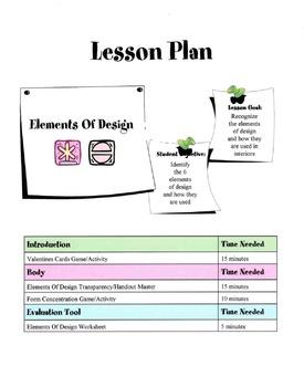 6 Elements Of Design Lesson