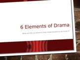6 Elements of Drama Presentation