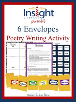 6 Envelopes Poetry Writing Activity