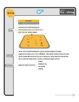 6 FREE Kindergarten - Grade 2 PE Sport lesson Tip & Tag Elementary Games