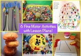 6 Fine Motor Activities with Lesson Plans