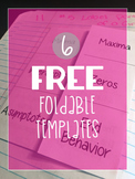 6 Free Foldable Templates