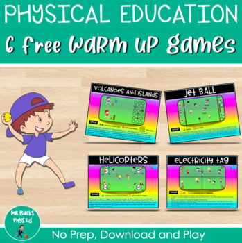 6 Free Physical Education Warm Up Games