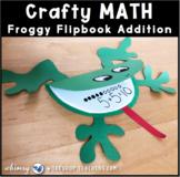 6 Froggy Flip Book Math Craft (From Crafty Math Bundle 3)
