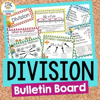 Division Bulletin Board Set