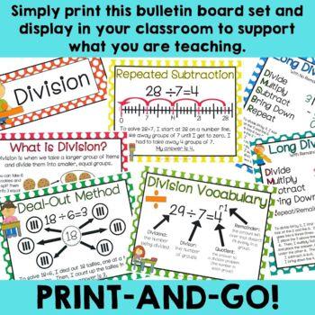 Division Bulletin Board Set