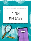 6 Fun Science Experiments or Centers - Mini Lab - Eye on t