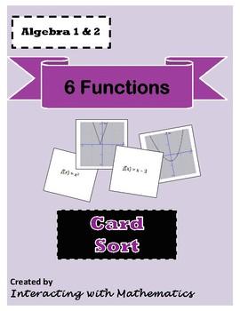 6 Function Card Sort
