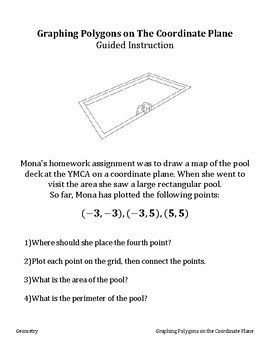 6.G.1, 6.G.3 Polygons on the Coordinate Plane - Stations