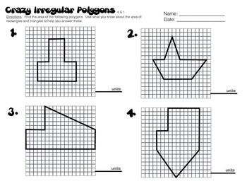 6.G.1 Crazy Irregular Polygons