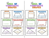 6.G.1 Area of Composite Shapes Anchor Chart