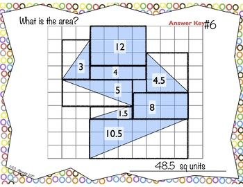 6.G.3  What is the Area?