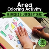 6.G.A.1 Area of Polygons Coloring Activity