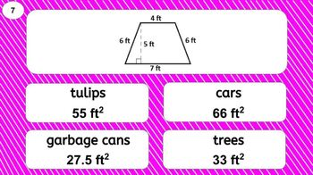 6.G.A.1 Digital Mad Lib Math Activity (Triangles, Quads, Composite Shapes)