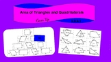 6.G.A.1 Interactive Digital Activity (Area of Triangles, Quadrilaterals)