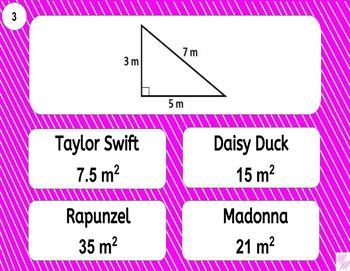 6.G.A.1 Printable Mad Lib Math Activity (Triangles, Quad, Composite Shapes)