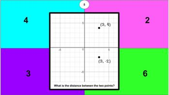 6.G.A.3 Polygons in Coordinate Plane Interactive Digital Activity