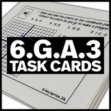 6.G.A.3 Task Cards - Graph Polygons and Find Measures of Side Lengths