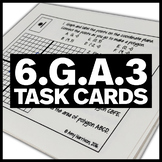 6.G.A.3 Task Cards - Graph Polygons, Find the Perimeter, Area, etc.