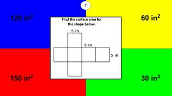 6.G.A.4 Nets and Surface Area Interactive Digital Activity