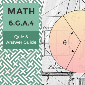 6.G.A.4 - Quiz and Answer Guide