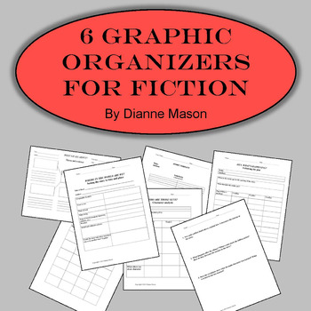 6 Graphic Organizers for Fiction