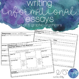 6 Graphic Organizers for Writing Informational Essays