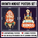 Growth Mindset Posters (Set 1)
