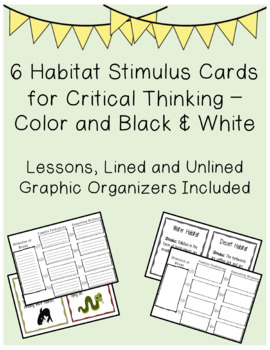 6 Habitat Stimulus Cards - Predictions and Evidence