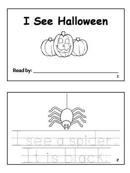 6 Halloween Emergent Reader Books