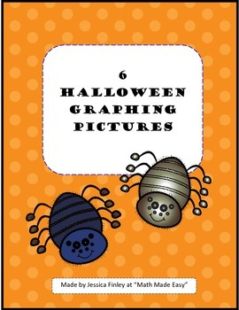 6 Halloween Graphing Pictures