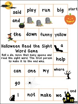 6 Halloween themed Board Games for Preschool, Pre-K, and Kindergarten.