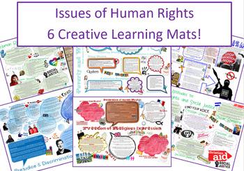 6 Human Rights Learning Mats / Information and Revision Sheets