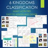 6 Kingdoms Living Things Classification BUNDLE