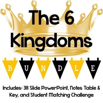 6 Kingdoms Lesson Bundle