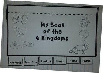 Six Kingdoms of Life Flip Book for Interactive Notebook