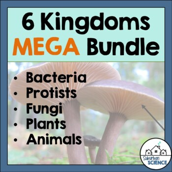 Six Kingdoms of Life: PowerPoints, Worksheets, Activities