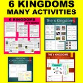 6 Kingdoms of Life RAINBOW NOTES - Protist, Fungus, Bacteria, etc