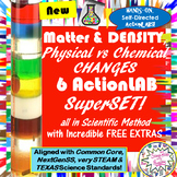 6 LAB SuperSET:DENSITY & Physical vs Chemical CHANGES-- each99cents! wFreebies!