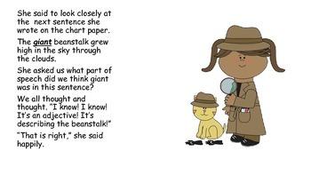 6 Little Parts of Speech Books