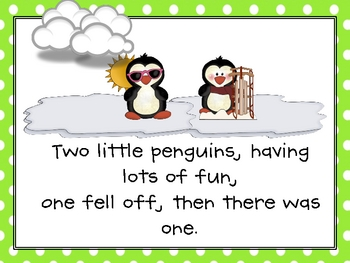 6 Little Penguins