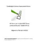 6 M/C Assessment Questions covering Florida standards SC.1.E.6.1