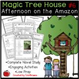 Magic Tree House #6 Afternoon on the Amazon Novel Study
