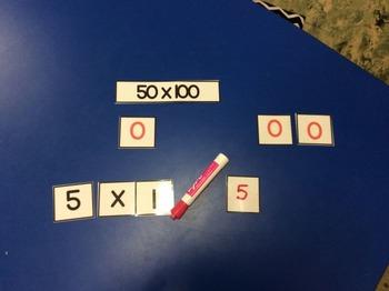 6 Math Centers