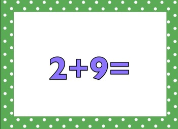 +6 Math Facts (no answers)