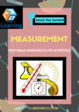 Measurement - Interesting printable with Fun Activities, Worksheets