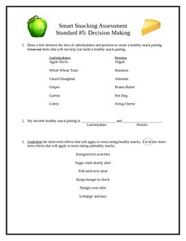 6 Middle School Health Lessons-Bundled: Decision Making & Goal-Setting