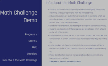 6.NS.1 6th Grade Math Challenge
