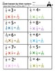 6.NS.1 Divide Fractions By Whole Numbers