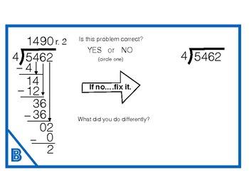 6.NS.2 Division Error Analysis